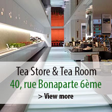 Tea Store and Tea Room in Paris