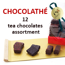 CHOCOLATHÉ - tea chocolates assortment.