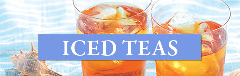 Selection of iced teas