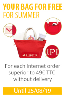 1 LUPICIA bag for free during summer