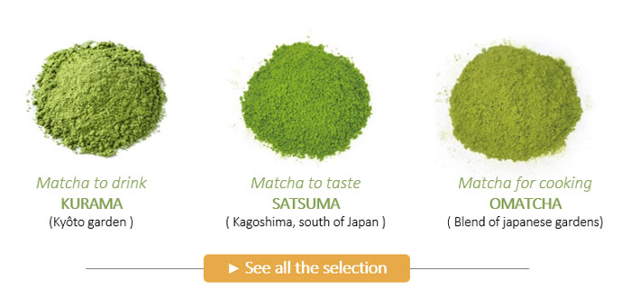 Japanese Matcha to taste and for cooking