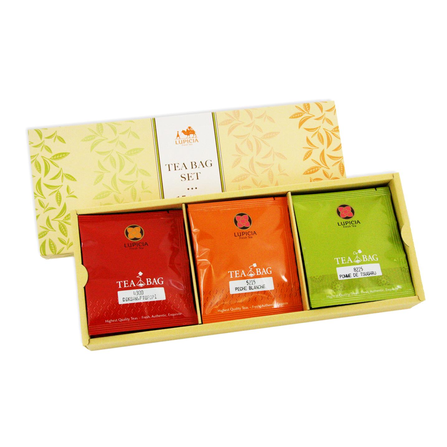 Tea bag set pieces lupicia