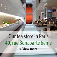 Our tea shop in paris