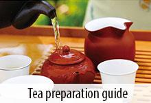 Tea preparation guide