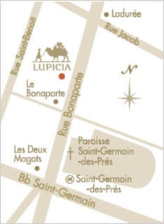 LUPICIA location on Google MAP