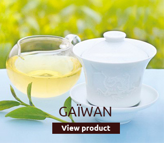 Gaïwan cup, ideal for your oolong teas.
